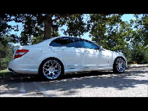 "My Mercedes-Benz C300 on 19"" AG M590 Wheels"