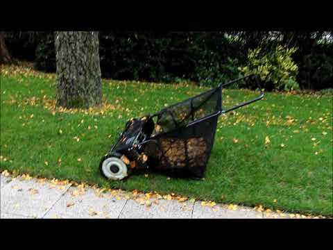 Rasenkehrmaschine Push Sweeper ist das eine Hilfe - NewWonder555