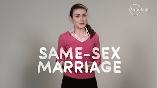 Same Sex Marriage   The Facts