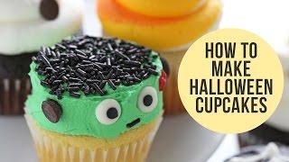 How To Make Halloween Cupcakes (5 Ways!)