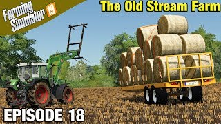 Overize Bale Loading And Transport Farming Simulator 19