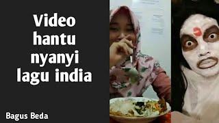 Gambar cover video TIK TOK hantu nyanyi lagu india..  lucu atau seram..??