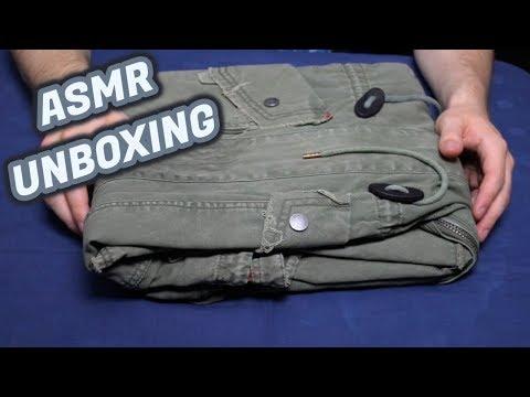 ASMR - Tigha Parka Unboxing (German/Deutsch)