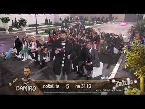 Zadruga 2 - David i Aleksandra nastup HOT HOT HOT (видео)