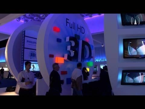 Philips präsentiert 3D-TV Cinema 21:9 Platinum auf der IFA 2010 (DIGITAL FERNSEHEN TV)