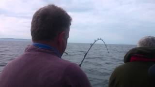 Sea fishing off Howth