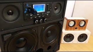 DIY: Powerful 2.1 Portable Loud Boombox