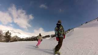 preview picture of video 'Arinsal Snowpark - Shreddin The Gnar'