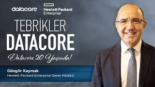 20. yılımızı övgüyle kutlayan Hewlett Packard Enterprise Genel Müdürü Güngör Kaymak'a gönülden t
