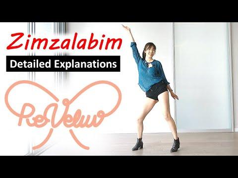 Red Velvet Zimzalabim Dance Tutorial Mirrored (Chorus)| Detailed Explanation| 레드벨벳 짐살라빔