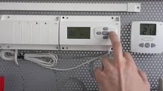 Установка связи между радиотермостатом Watts и радиомодулем