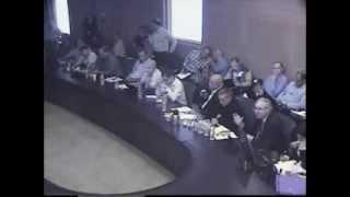Knesset Presentation on NGO Exploitation of Bedouin Issue
