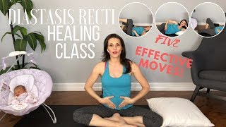 "10 Minute Diastasis Recti Healing Video To Get Rid of ""Mummy Tummy"""