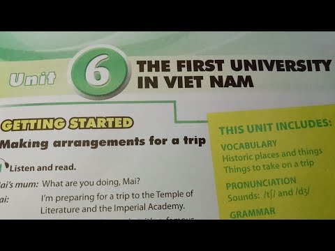 Tiếng Anh 7: Unit 6. Getting started