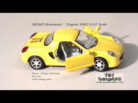 Инерционная металлическая машинка Kinsmart «Toyota MR2» 1:32 / KT5026