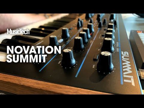 Superbooth 2019: Novation Summit is more than two Peaks