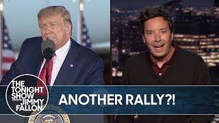 Trump Hosts COVID-19 Super Spreader Event in Michigan   The Tonight Show