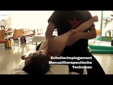 Knirschen im Schultergelenk und starken Schmerzen in