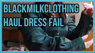 06042020: Blackmilkclothing Dress Haul Fail | Vlog #2358