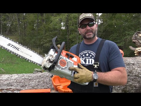 Stihl Chainsaws…are they the best? MS311 Review and farm demonstration