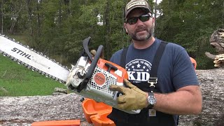 Stihl Chainsaws...are They The Best? MS311 Review And Farm Demonstration