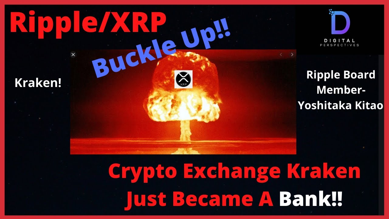 #Ripple #XRP Ripple/XRP- Yoshitaka Kitao Becomes Japan`s Economic Advisor,KRAKEN Just Became A BANK!!