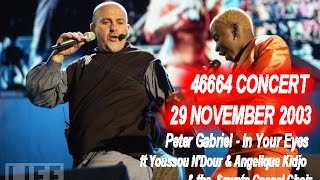 "Peter Gabriel - In Your Eyes  from ""46664 concert""  held in Cape Town on 29 November 2003"