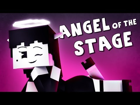 """""""Angel of the Stage""""   Bendy and the Ink Machine Minecraft Music Video (Song by TryHardNinja)"""