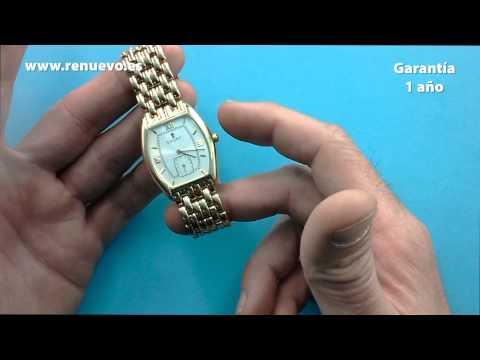 Reloj CAUNY de oro de 18 kilates de segunda mano E239927G