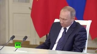 Путин и президент Вьетнама подводят итоги переговоров в Москве