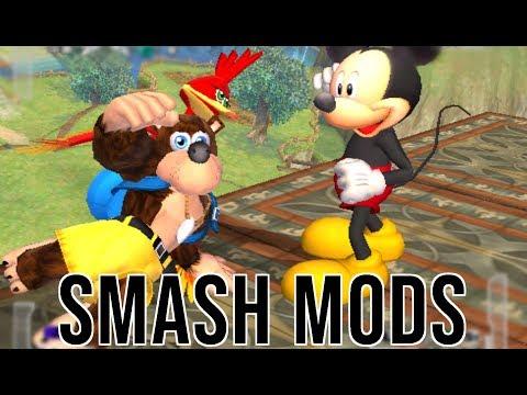 Banjo vs Mickey Mouse | (Smash Universe)