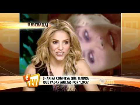 Los problemas de Shakira con LOCA