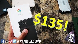 How to get a cheap Google Pixel 3a ($135)!