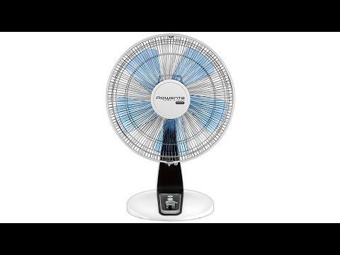 "Rowenta VU2640F0 Turbo Silence Extreme Table Fan 16"" / 40cm【4K】"