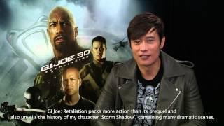Lee Byung-hun message to Australian fans (GI Joe Retaliation)