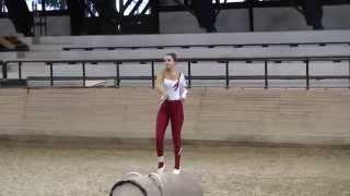 preview picture of video 'Lovastorna - Kaposvár Kupa 2014. - Rostás Eszter - Kűr'