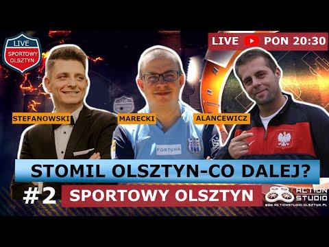 Emil Marecki i Michał Alancewicz w programie Sportowy Olsztyn