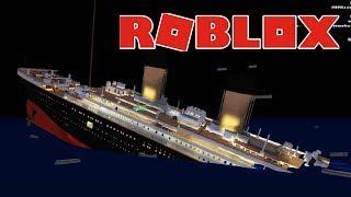 Гибель Титаника в ROBLOX