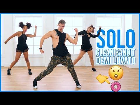 solo clean bandit ft demi lovato caleb marshall dance workou