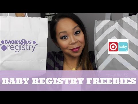 BABY REGISTRY FREEBIES | Babies r Us & Target | MommyTipsByCole