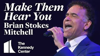 "Brian Stokes Mitchell sings ""Make Them Hear You"" from Ragtime 