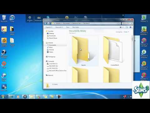 How To Install .Packages Files (mods)  For The Sims 3 Mp3