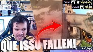CS:GO - GAULES IMPRESSIONADO COM JOGADA DO FALLEN & VSM FAZ JOGADAS ABSURDAS DE EAGLE!!