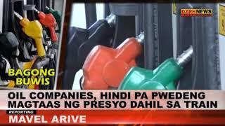Oil companies, hindi pa pwedeng magtaas ng presyo