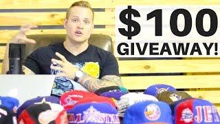 Huge Vintage Snapback Haul + $100 SNUPPS GIVEAWAY! | RALLI ROOTS S2.E2