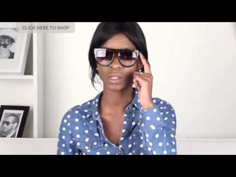 Celine CL 41026 'Shadow' Sunglasses Review | VisionDirectAU