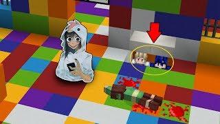 จะเป็นอย่างไร? ถ้าต้องมา ซ่อนแอบหนี โมโม่ สุดโหด?? (Minecraft ซ่อนแอบ)
