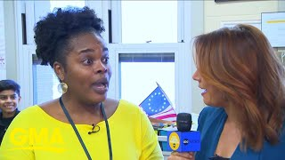 This STEM teacher gets the surprise of a lifetime on 'GMA' l GMA