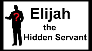 Elijah: the Hidden Servant of Isaiah 49 (i.e. Yeshua's servant)