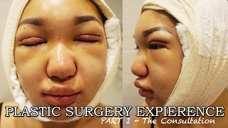 MY PLASTIC SURGERY EXPIERENCE || Pt 1. Double Eyelid Surgery, Asian Rhinoplasty, Chin Liposuction,